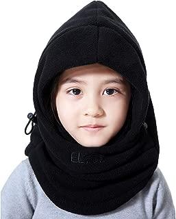 Children's Lightweight Balaclava Winter Hat, Thick Windproof Soft Warm Fleece Kids Ski Cap Face Mask Winter Hood for Outdoor Sports
