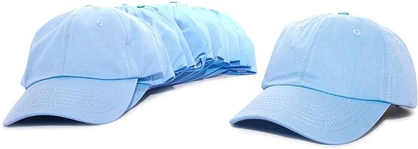 DALIX Baseball Cap Mens Trucker Hat Dad Hats Caps for Women 12 Pack