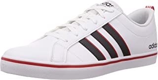 Adidas Men's Vs Pace Ftwwht/Gre Six/Actred Sneakers-9 UK (43 1/3 EU) (9.5 US) (EE7840)