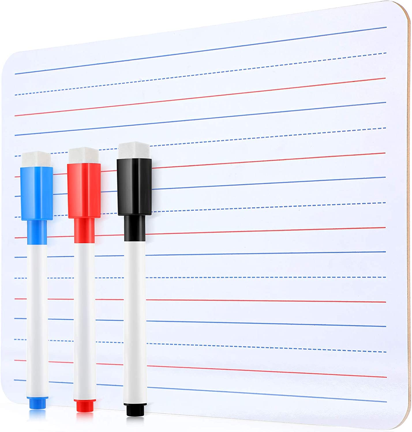 Dry Erase White Board Double-Sided Lapboards Learning Max Max 51% OFF 86% OFF B Portable