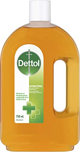 Dettol Antibacterial Household Grade Disinfectant Liquid, 750ml