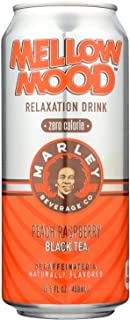 Marleys Mellow Mood Tea Black Peach Raspberry Zero, 15.5 fl oz