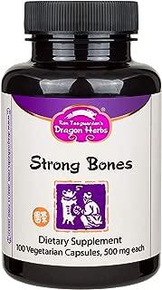 Dragon Herbs - Strong Bones - 500 mg - 100 Vegetarian Capsules