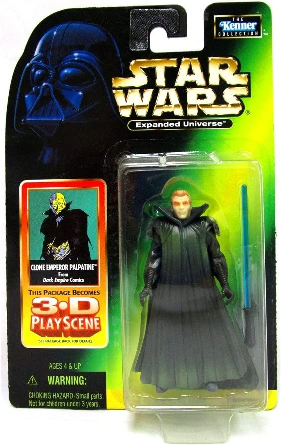 Star Wars: Expanded Universe Clone shipfree Classic Palpatine Figu Emperor Action