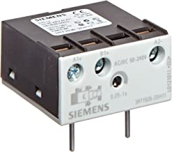 Siemens 3RT19 26-2CH11 Solid State Time Delay Block, Semiconductor Output, On Delay, Varistor Integrated, S0 - S3 Size, 0.05 - 1s Time Setting Range, 90-240VAC/VDC Rated Control Supply Voltage