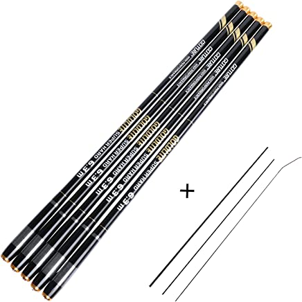 Goture 1 Piece Carp Fishing Pole, Carbon Fiber Ultralight...
