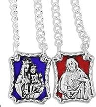 Venerare Our Lady of Mount Carmel Metal Scapular