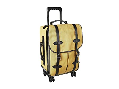 Filson Rolling 4-Wheel Carry-On (Tan) Carry on Luggage