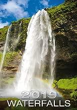 Waterfalls Calendar - Calendars 2018 - 2019 Calendar - Nature Calendar - Photo Calendar - Scenic Calendar By Helma