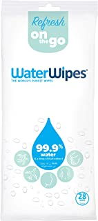 WaterWipes Refresh Body Wipes, 1 pack of60 wipes