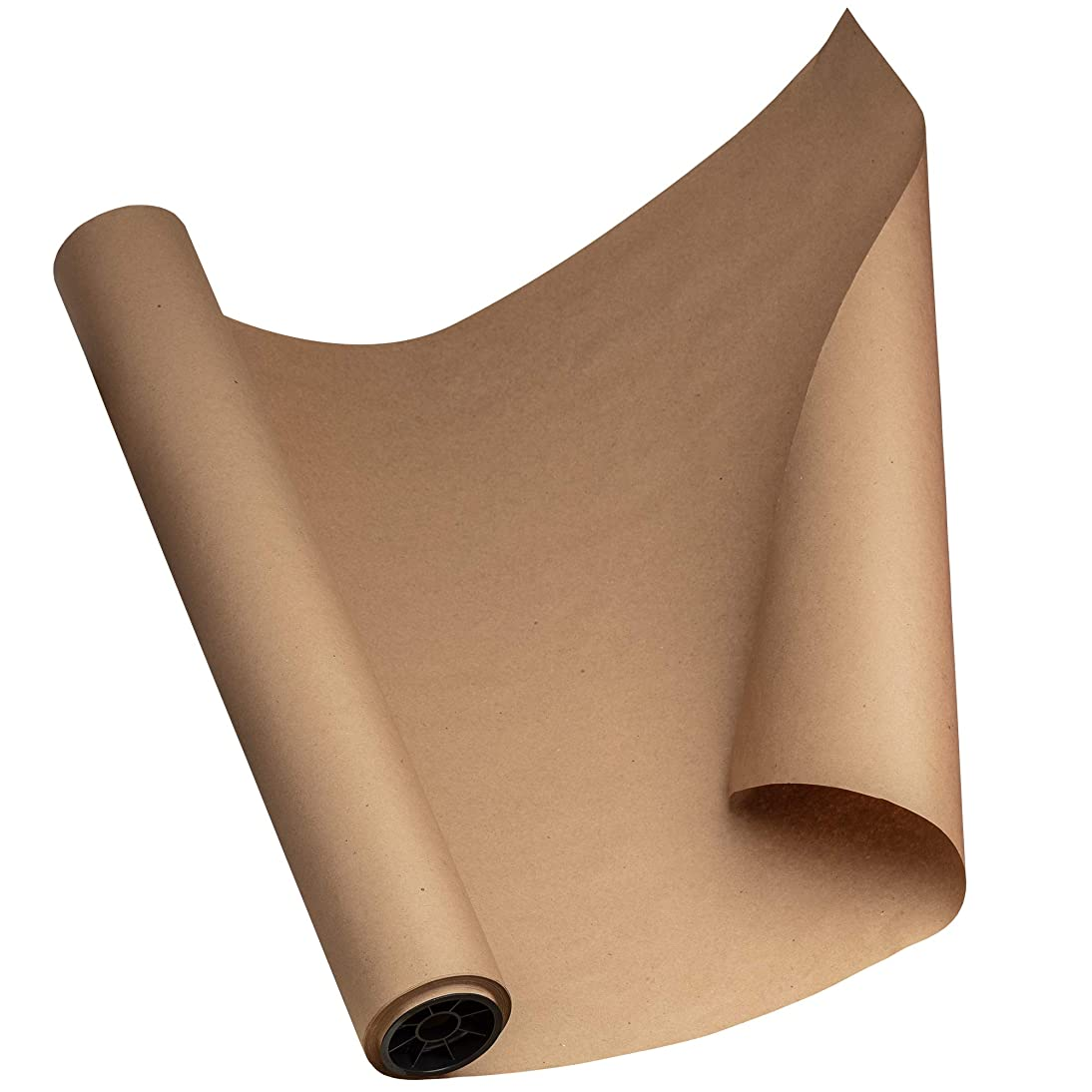 Kraft Paper Roll 24'' X 1800'' (150ft) Brown Mega Roll - Made in Usa 100% Natural Recycled Material - Perfect for Packing, Wrapping, Butcher, Craft, Postal, Shipping, Dunnage and Parcel