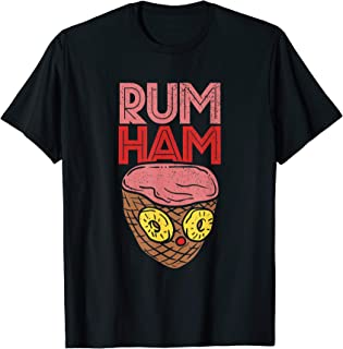 Rum Ham T Shirt I Funny BBQ Tshirts