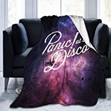 """Jinfugongmao Pa_nic at Th-e Dis-co Ultra-Soft Micro Fleece Blanket Super Soft Plush Fuzzy Bed Throw Microfiber Holiday Winter Cabin Warm Blankets 50""""x40"""""""