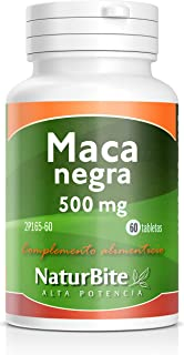 NaturBite Maca Negra - 60 Tabletas