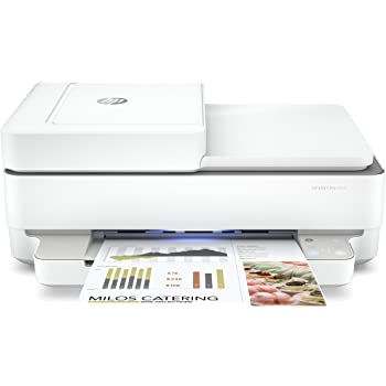 HP ENVY Pro 6455 Wireless All-in-One Printer | Mobile Print, Scan & Copy | Auto Document Feeder (5SE45A)