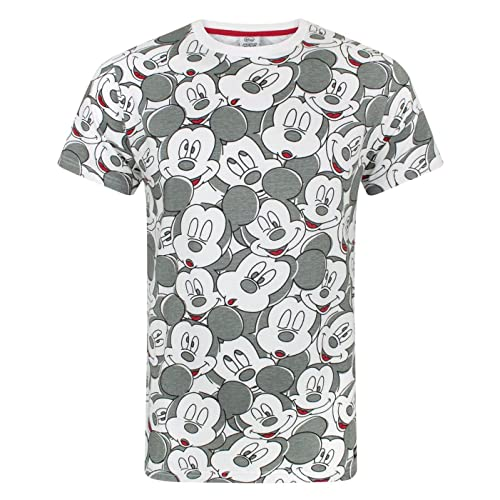 977b8443a Mickey Mouse Disney Face All Over Print Men's T-Shirt