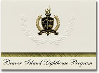 Signature Announcements Beaver Island Lighthouse Program (Beaver Island, MI) Graduation Announcements, Presidential Basic ...
