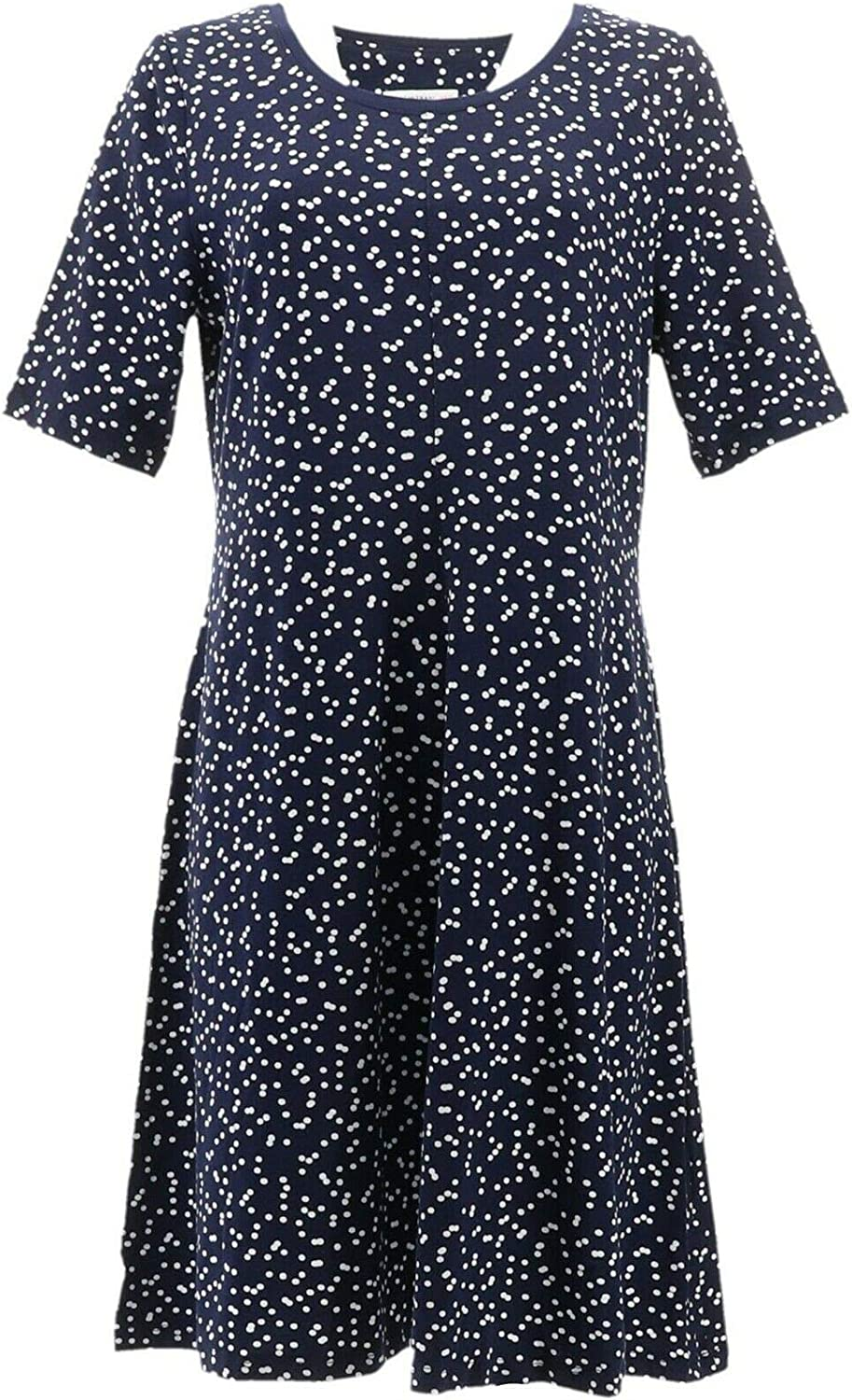 Isaac Fixed price for sale Mizrahi Knit Scatter A352282 New item Swing Dot Dress