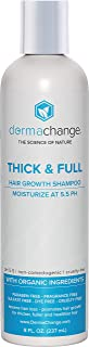 Thick and Full Hair Growth Shampoo - With Organic Vitamins for Hair Growth - For Color Treated Hair - Paraben, Gluten and Sulfate Free - Hair Loss Treatments - Supports Regrowth (8oz) - Made in USA