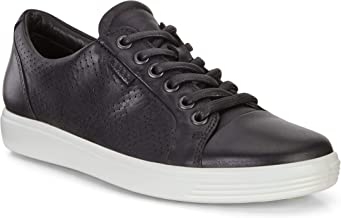 ECCO Women's Soft 7 Perforated Tie Sneaker