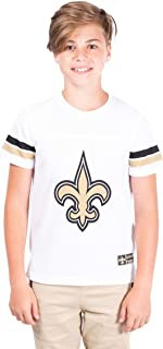 Ultra Game NFL Boys Mesh Vintage Jersey Tee Shirt