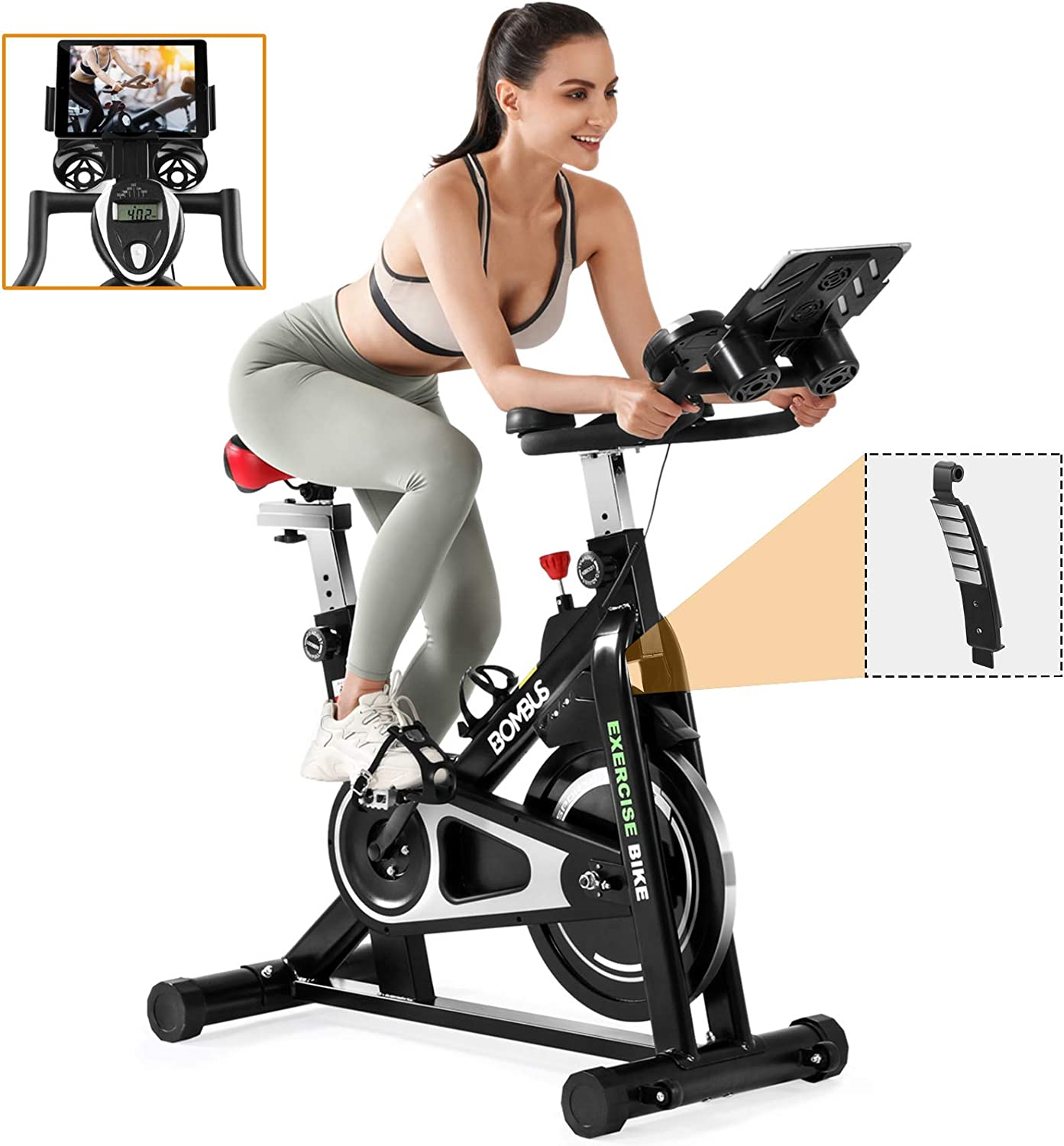 Exercise Bikes Stationary-Indoor Professional Magnetic Resistanc