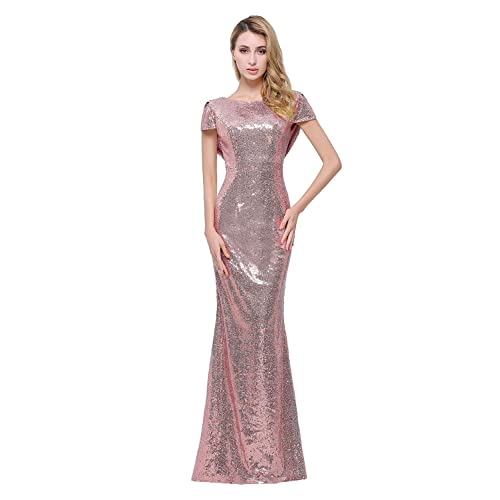 Long Gold Sequin Dress: Amazon.com