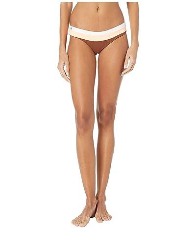 Maaji Miranda Sublime Reversible Signature Coverage Bikini Bottoms (Coconut Brown Texture) Women