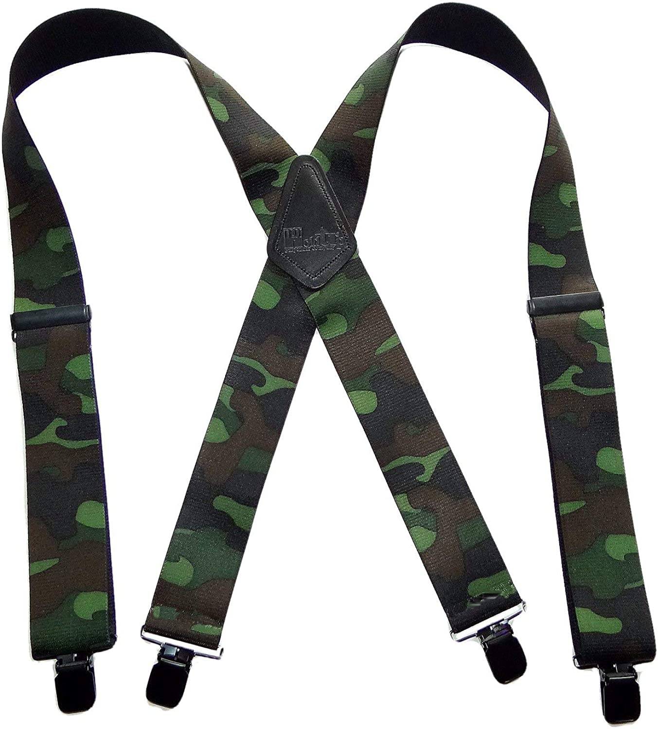 Holdup Brand Woodland Camouflage Hunting Suspenders Lowest price challenge with jumbo price P