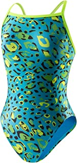 Speedo Women's Flipturns Speedah Cheetah Propel Back Swimsuit (30)