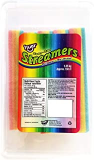 Huer - Sour Rainbow Streamers 150 Count