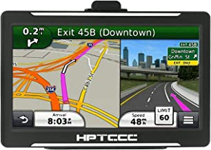 GPS Navigation for Car/Truck,7 inch Car GPS Touch Screen Turn-to-Turn Navigation System, Vehicle GPS Navigator, Voice Reminder Free Lifetime Map Update