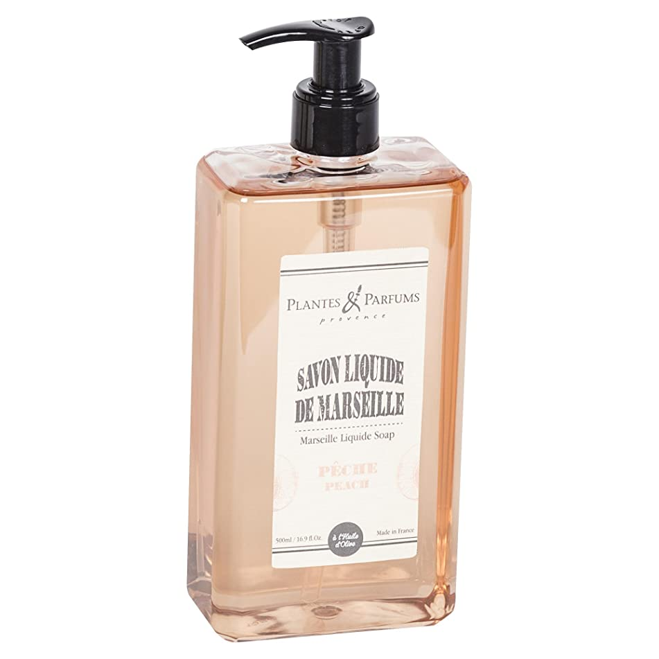 廃止するコミットメントジャグリングPlantes&Parfums [プランツ&パルファム] マルセイユリキッドソープ ピーチ