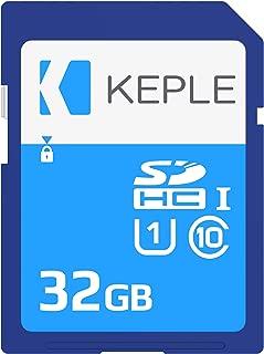 32GB SD Card Class 10 High Speed Memory Card Compatible with Sony Alpha A6000, 7S, A5100, 7 II, 7R II, NEX-F3, NEX-5R / Panasonic Lumix DMC-TZ60, DMC-TZ55, DMC-TZ100 Camera | UHS-1 U1 SDHC 32 GB