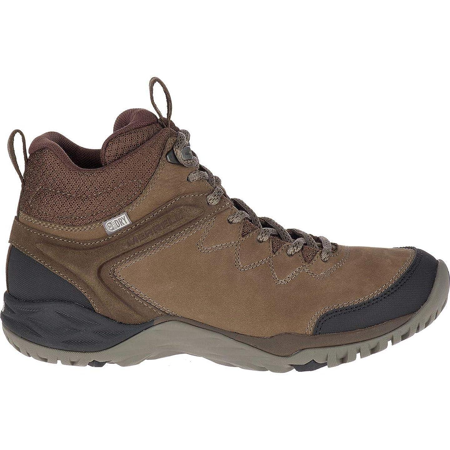 任意半径生産的[メレル] Siren Traveller Q2 Mid Waterproof Hiking Boot レディース ブーツ [並行輸入品]