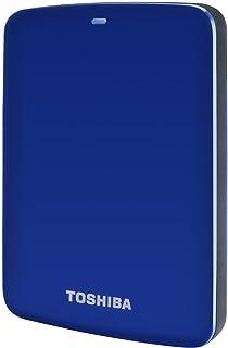 Toshiba HDTC710EL3AA 1TB Canvio Connect USB 3.0 2.5 Inch External Hard Drive - Blue