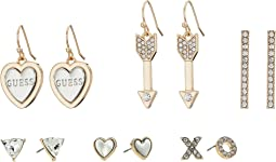 GUESS - 6 on Mixed Earrings Set