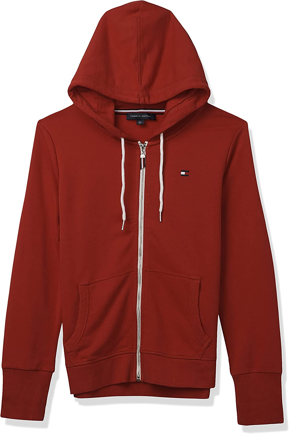 Tommy Hilfiger Women's Casual Hoodie famous Zip Now on sale