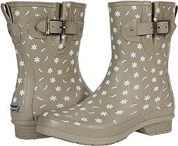 Ditsy Daisy Mid Rain Boots