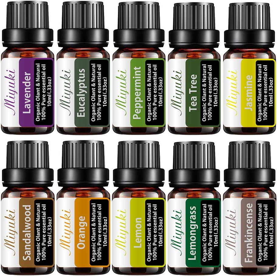 Essential Oil Max 72% OFF Gift 2021 autumn and winter new Sets with Te Lavender Peppermint Eucalyptus