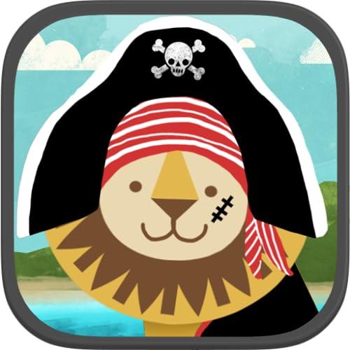 Piraten-Vorschulpuzzle – Witzige Lehrreiche Kleinkinderspiele und Schulaktivitäten für Jungen und Mädchen