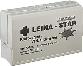 Leina 73600 - Botiquín de Primeros Auxilios con Manta isotérmica de Emergencia (DIN 13164 B)