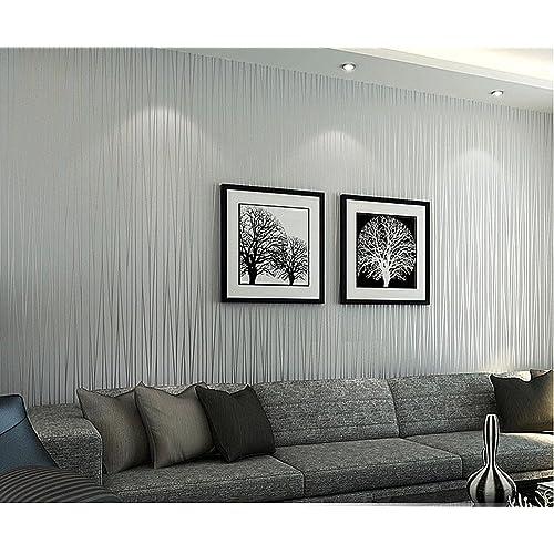 b7a3f853bce HANMERO Moderno diseño papel pintado rayas, no tejido papel de pared  dormitorios/salón/