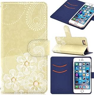 iitrust iPhone X ケース 手帳型 iPhone X カバー 薄型 耐衝撃 PUレザー ベージュ IP84X-Y01-AV1