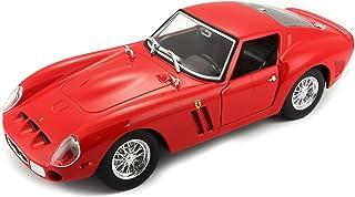 Bburago B18-26018 Ferrari 1:24 Race and Play 250GTO, Red