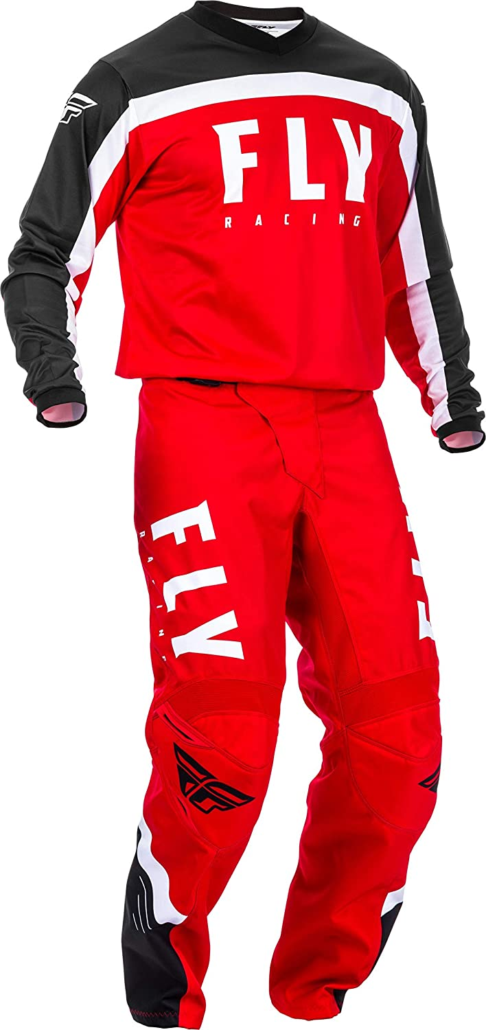 2019 F-16 MX Riding Gear Combo Set Fly Racing Motocross Off-Road Dirt Bike Light Weight Durable Jersey /& Mesh Comfort Liner Stretch Pre Shaped Knees Pant Mens Blue /& Black /& HI-VIS X-Large//34W