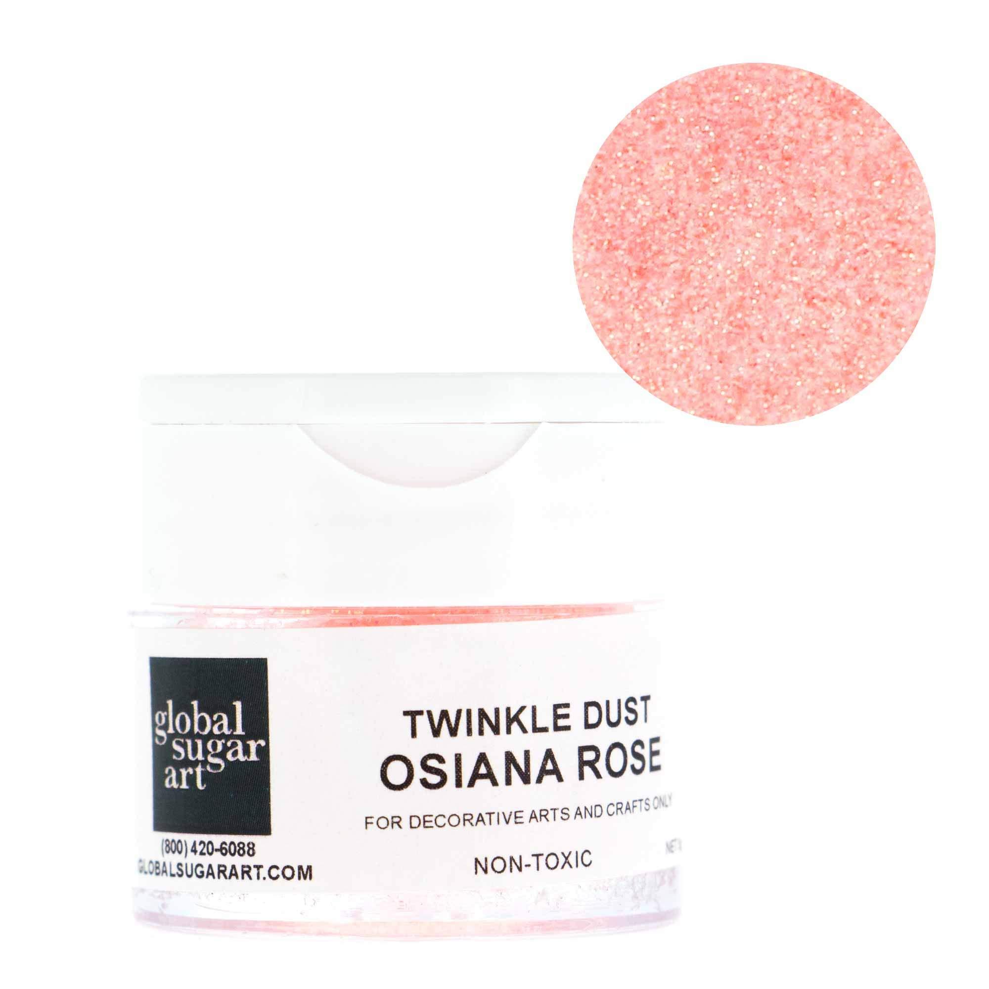 Osiana Rose Twinkle Dust by Global Sugar Art