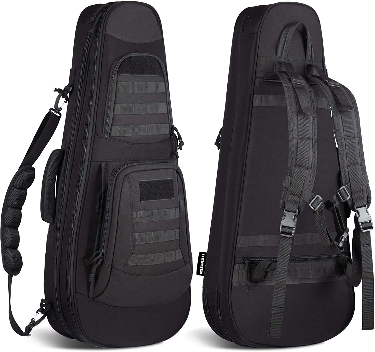 HUNTSEN Tactical Purchase Rifle Bag Max 52% OFF Backpack Gun Padded Case Soft