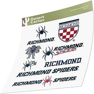 University of Richmond Sticker Vinyl Decal Laptop Water Bottle Car Scrapbook (Type 2 Sheet)