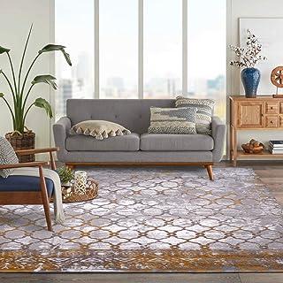 Al Salem Carpet Colorado Polyster polyproplene Carpet Dinning Room Rectangle 150 CM X 230 CM 8.45KG Gold Modern